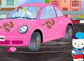 Игра Хелло Китти на своей Автомойке