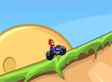 Игра Мотокросс Марио