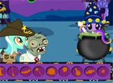 Игра Мой Маленький Пони: Веселье на Хэллоуин