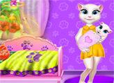 Игра Говорящая Анджела: Детская кроватка