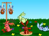 Игра Ферма милых зайчиков