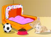 Игра Декор домика для кошки
