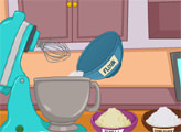 Игра Кулинарная академия Cutezee: Кексы в стиле Холодное сердце