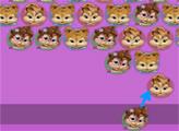 Игра Элвин и бурундуки - пузырьки
