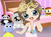 Игра Маленькая принцесса переодевается