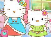 Игра Хелло Китти и ее мама готовятся к выходу в свет