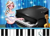 Игра Беременная Эльза - пианист