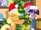 Игра Мой Маленький Пони: Рождественская катастрофа