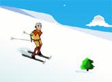 Игра Аанг и Горные лыжи