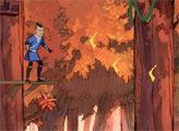 Игра Легенда об Аанге - Лесные приключения