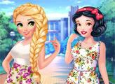 Игра Принцессы охотницы за модой