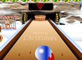 Игра Snow Bowling