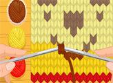 Игра Cutezee и вязание
