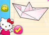 Игра Хелло Китти: Урок Оригами
