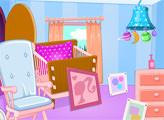 Игра Барби: Роды и детская комната