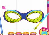 Игра Супер Барби: Дизайн масок