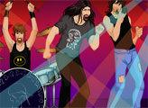 Игра Одежда для рок-группы