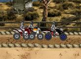 Игра Квадроциклы в пустыне