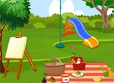 Игра Пикник - Побег от обезьяны