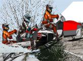 Игра Зимние гонки Снегоходов