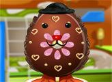 Игра Украшаем шоколадное яйцо