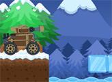 Игра Зимнее танковое приключение