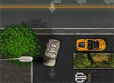 Игра Парковка Джипа в городе