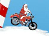 Игра Рождественский мотокросс Санты