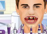 Игра Джастин Бибер у дантиста
