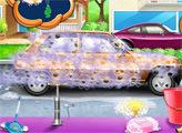 Игра Белль и Ариэль в автомойке