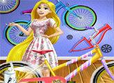 Игра Мастерская велосипедов Рапунцель