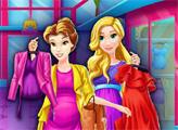 Игра Беременные принцессы делают шопинг