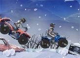 Игра Зимние гонки на квадроциклах