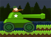 Игра Танк спешит на поле битвы
