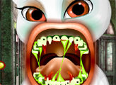 Игра Вампир Анжела у стоматолога