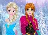 Игра Причёски Эльзы и Анны