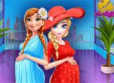 Игра Холодное сердце:  Шоппинг беременных принцесс
