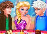 Игра Настоящая любовь Эльзы: Джек против Иккинга
