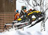 Игра Гонка снегоходов по пересеченной местности