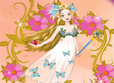 Игра Цветочная принцесса фея