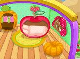 Игра Сладкий фруктовый домик