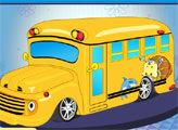 Игра Дизайн школьного автобуса