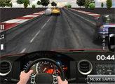 Игра 3Д Гонки на малиновом авто