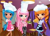 Игра Милый тренд: Очаровательные официантки