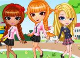 Игра Милый тренд: Наряды для школьниц