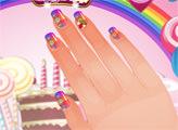 Игра Студия ногтей - сладкий дизайн