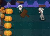 Игра Хэллоуин - Защита тыкв