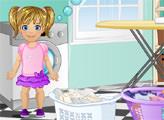 Игра Малышка Эмма - прачечная