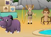 Игра Малышка Эмма в зоопарке