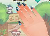 Игра Студия ногтей - дизайн с животными